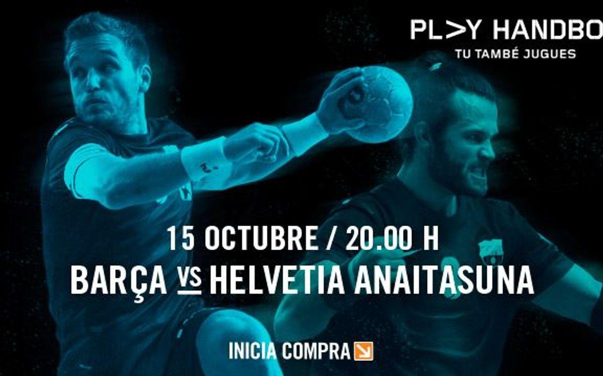 FC Barcelona – Helvetia Anaitasuna, entre Champions