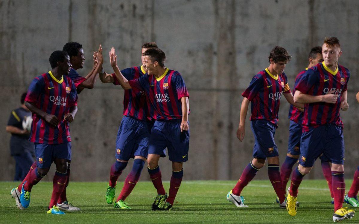Juvenil A-Girona: Cap a Glasgow amb tres punts més (3-1)