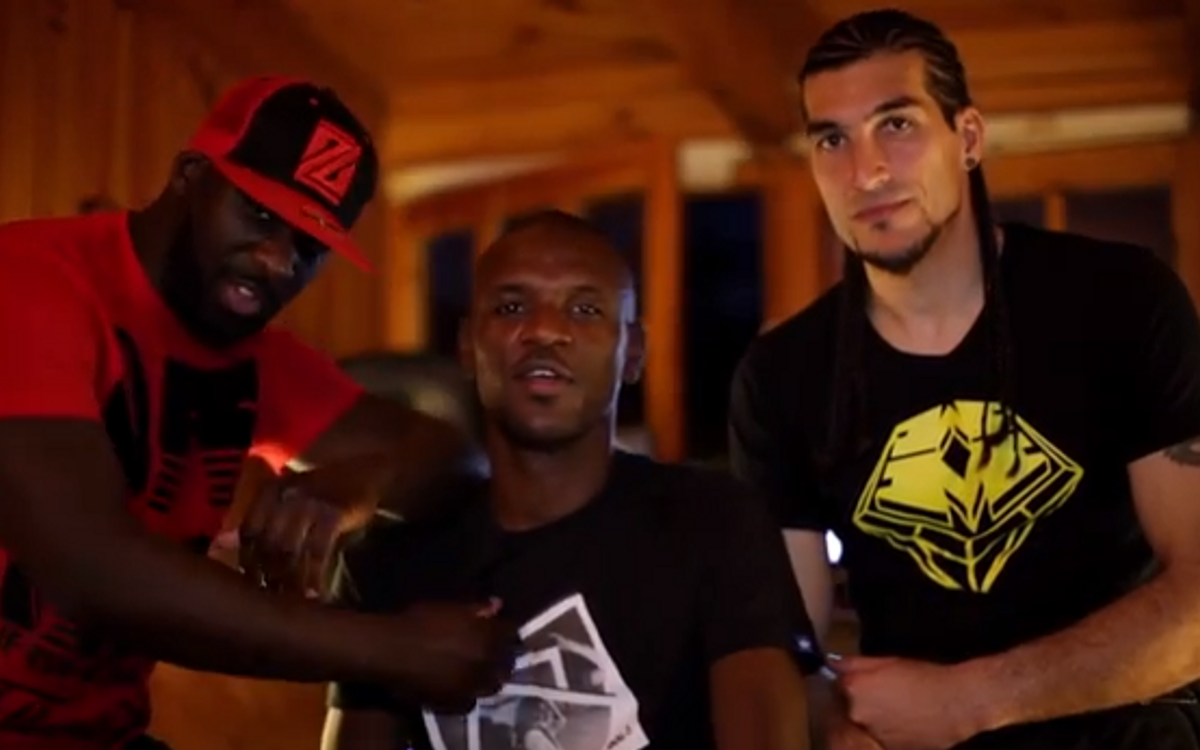 Pinto and Abidal, the musical footballers