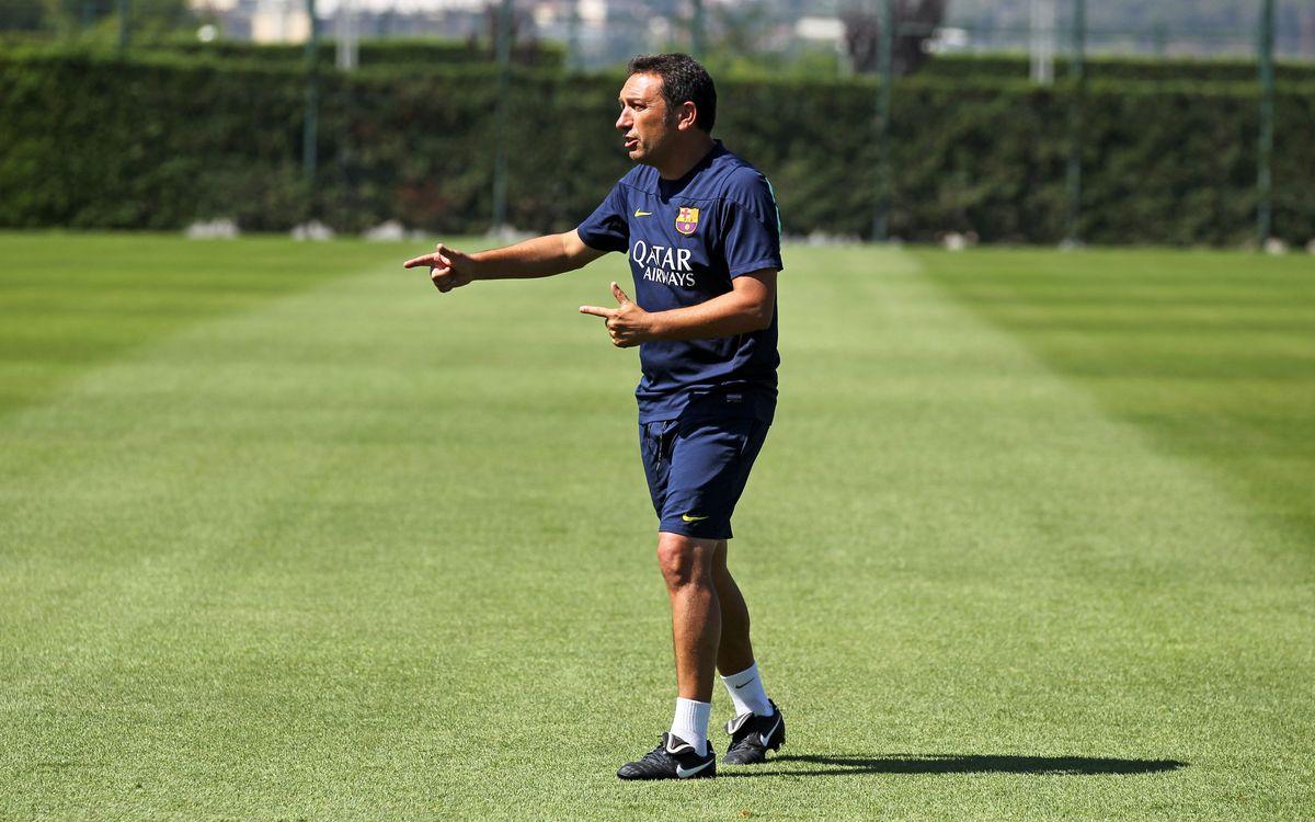 """Eusebio: """"Tot i la derrota, estic molt content amb l'actitud"""""""