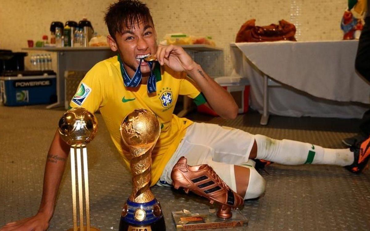 Neymar wins Confederations Cup Golden Ball Award
