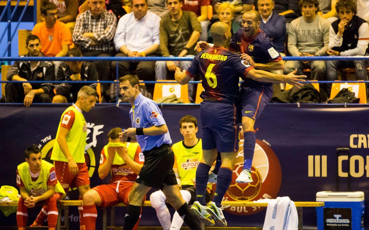El FC Barcelona Alusport vol evitar sorpreses i Marc Carmona ha conscienciat els seus jugadors