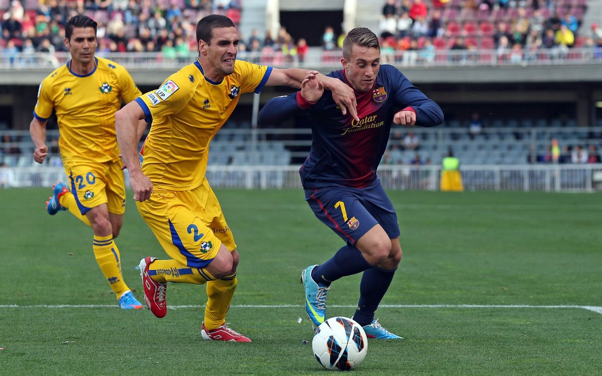 Barça B - Alcorcón: The two points slip away in the 92nd minute (1-1)