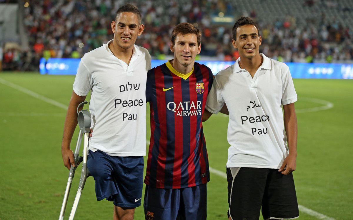 Football pour la paix à Tel Aviv