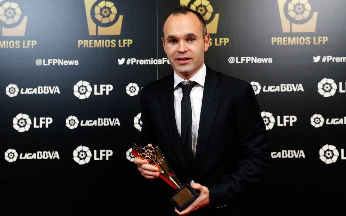 Le FC Barcelone récompensé