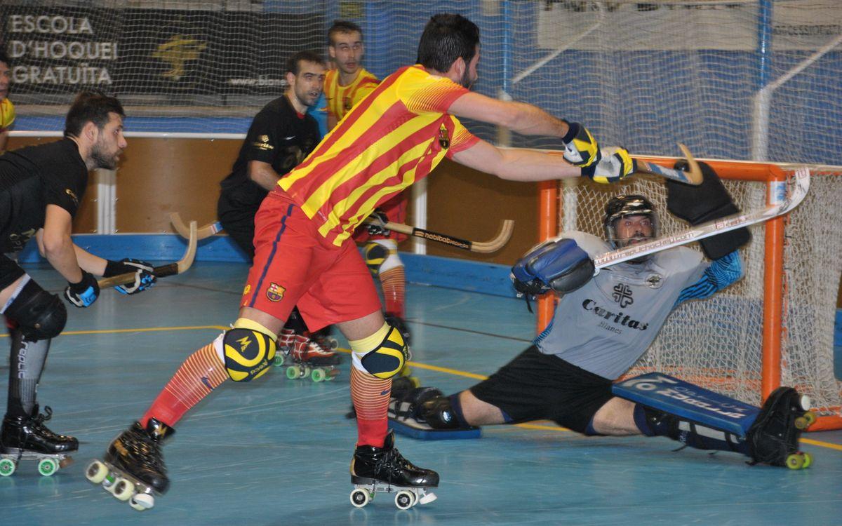 Blanes HC v FC Barcelona: Leaders romp home (3-10)