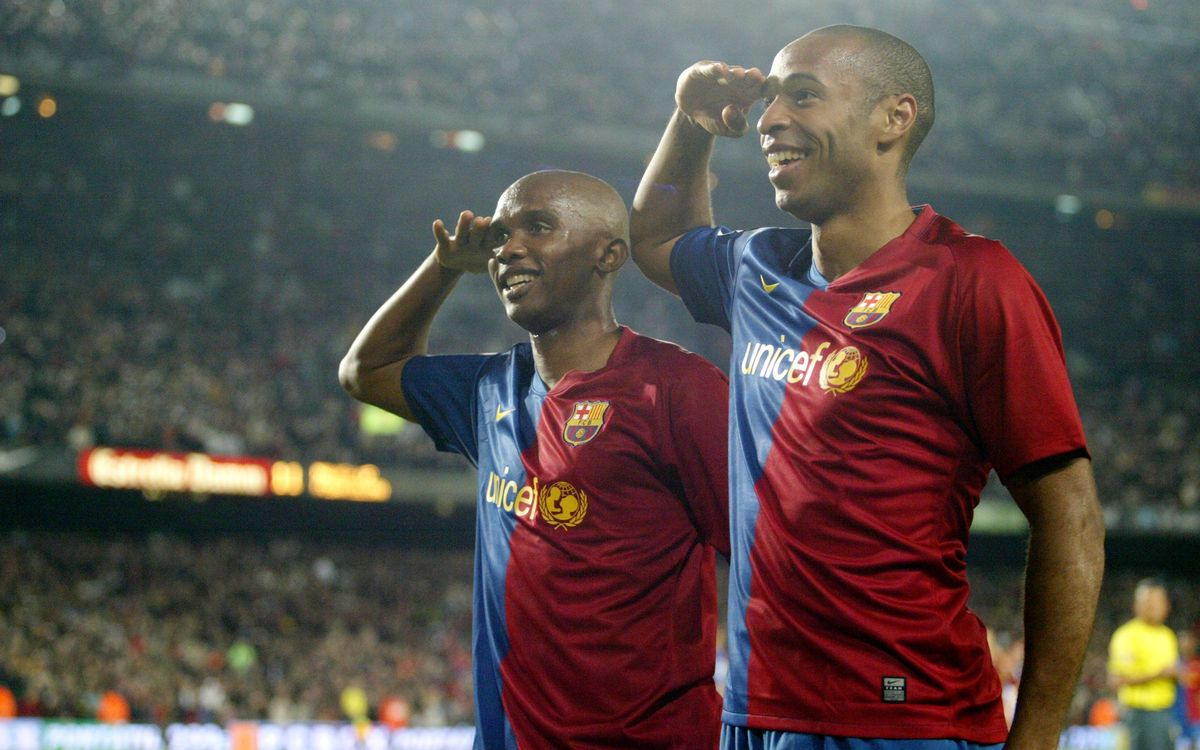 FC Barcelona's best legendary goals