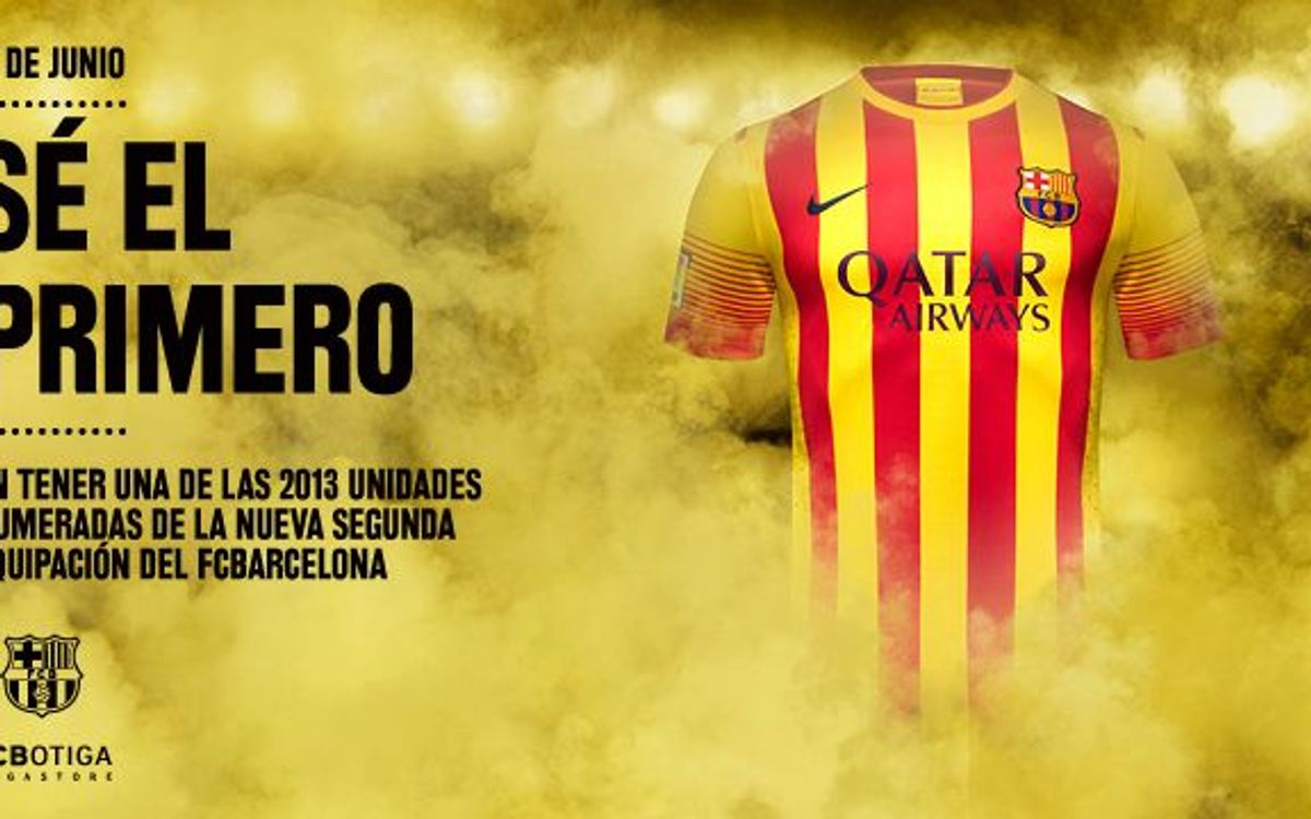 Exclusive FC Barcelona away kit sale