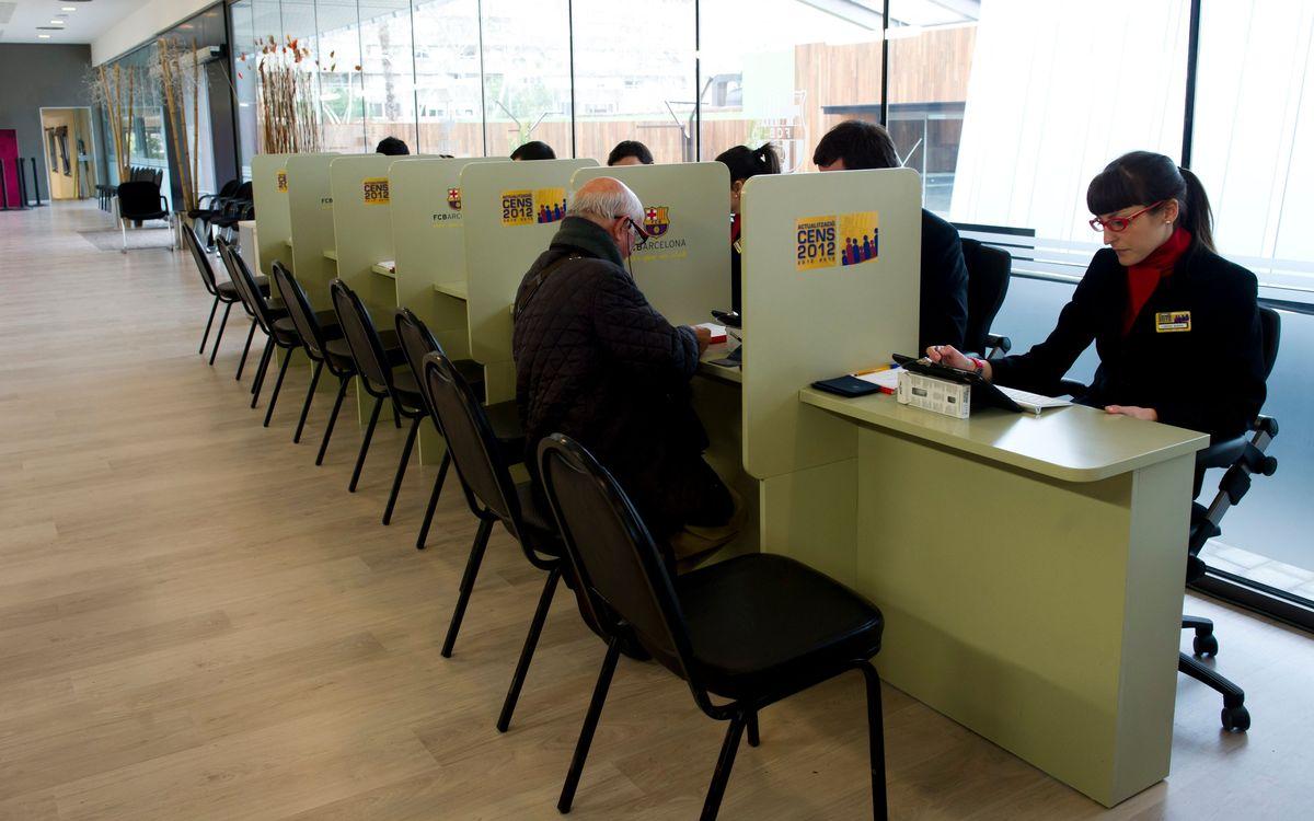 Diumenge, l'Oficina del Cens obre de 10 a 20 hores
