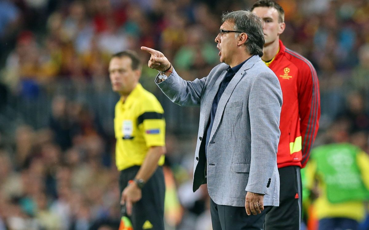 "Tata Martino: ""It wasn't a brilliant match but we put in a strong performance"""
