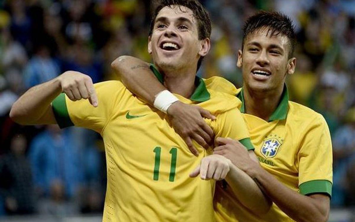 ブラジル、フランスを負かす (3-0)