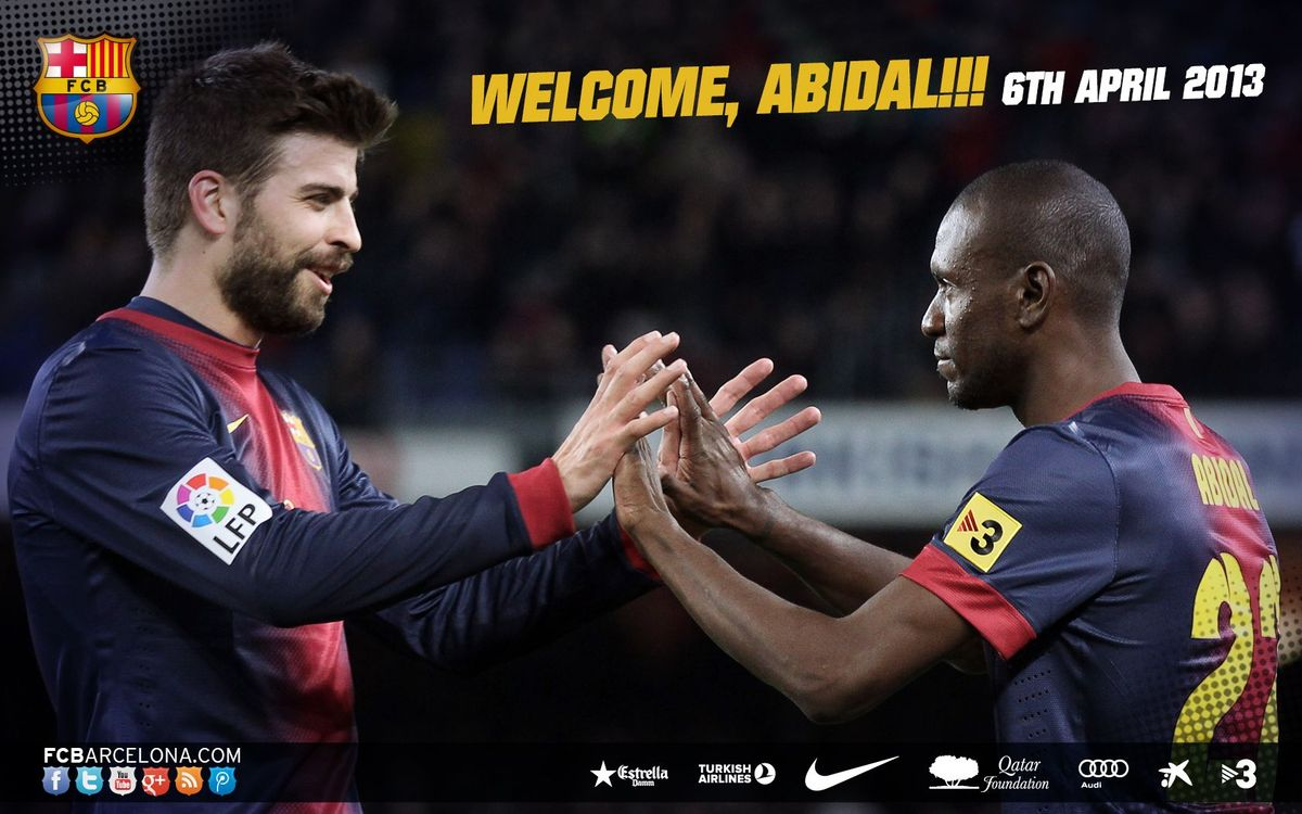 Wallpaper: Abidal's return
