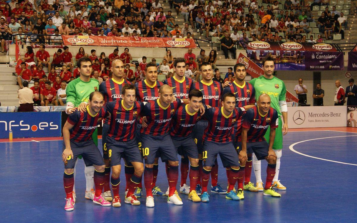 ElPozo Múrcia- FC Barcelona: Avantatge a la Supercopa (0-1)