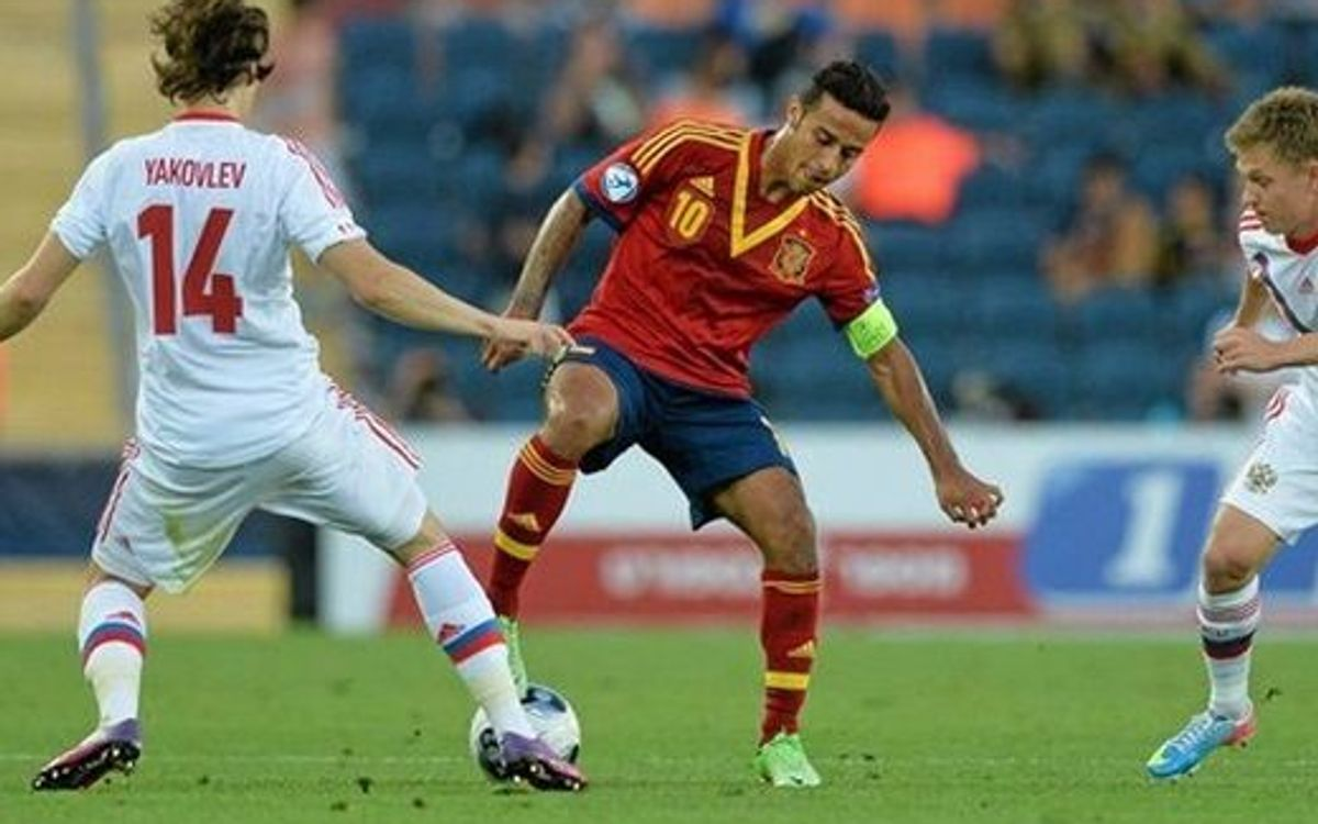 U21 Spain make debut, defeat Russia (1-0)