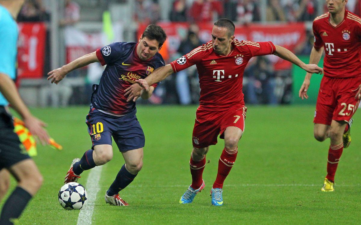 FC Bayern Munich- FC Barcelone: Un début exigeant