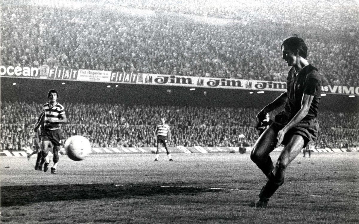 40 years since Cruyff's FC Barcelona debut