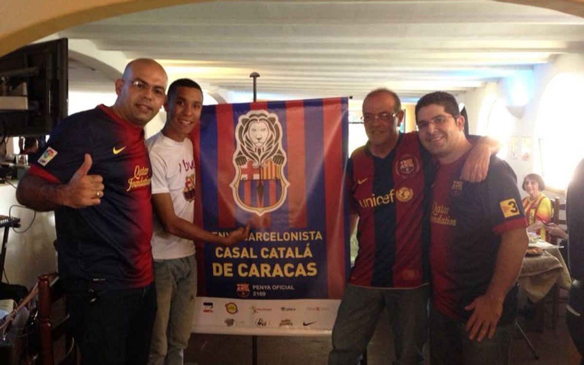 The Casal Català in Caracas now has a penya