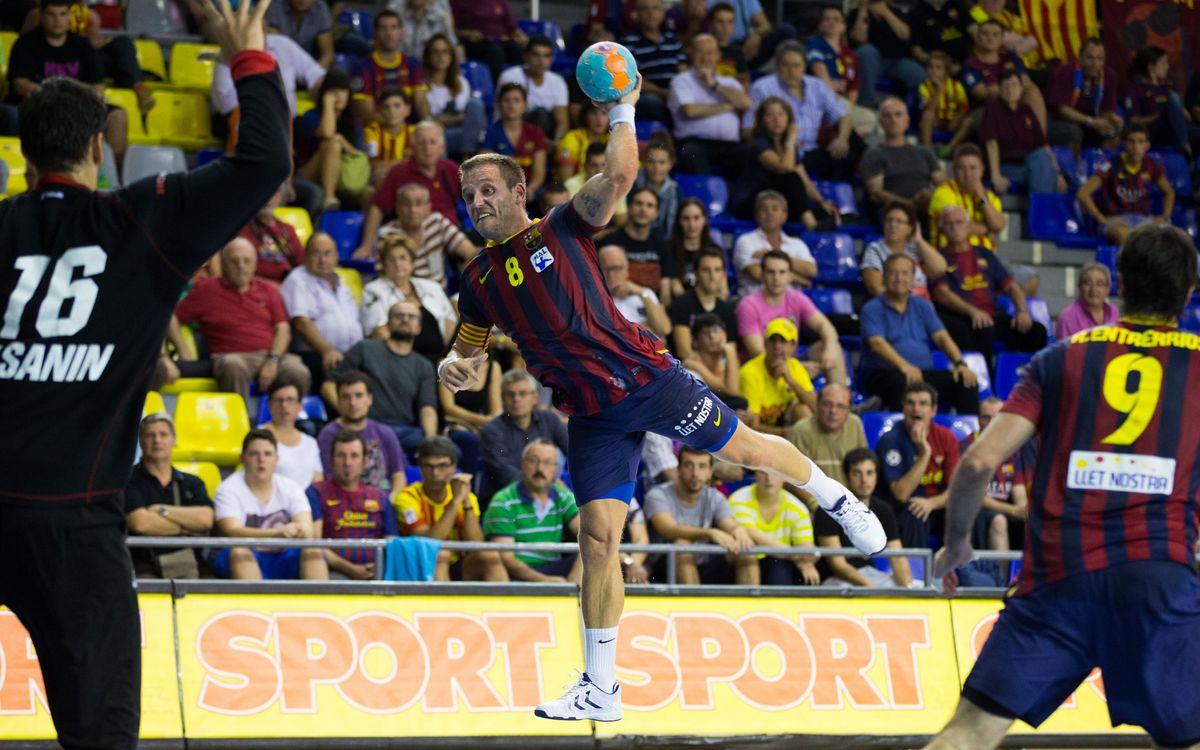 FC Barcelona - Ademar León: Third consecutive victory (38-24)