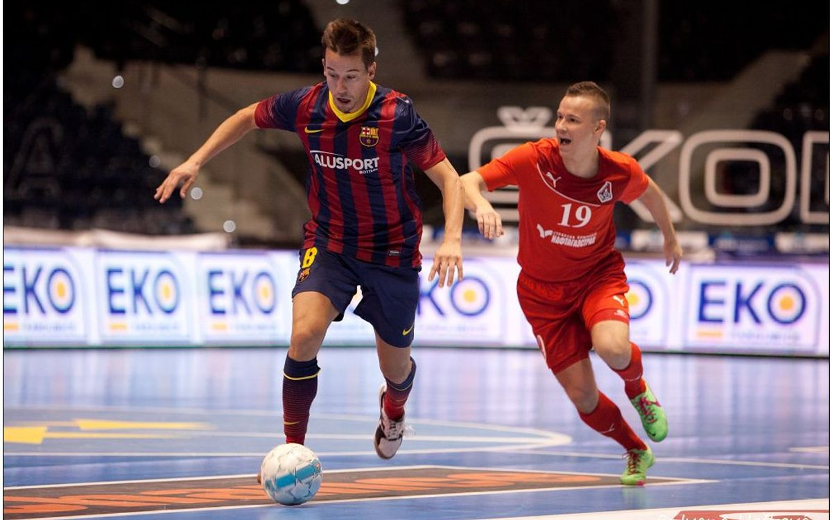FC Barcelona Alusport – Lokomotiv Khàrkiv: Commanding start (6-1)