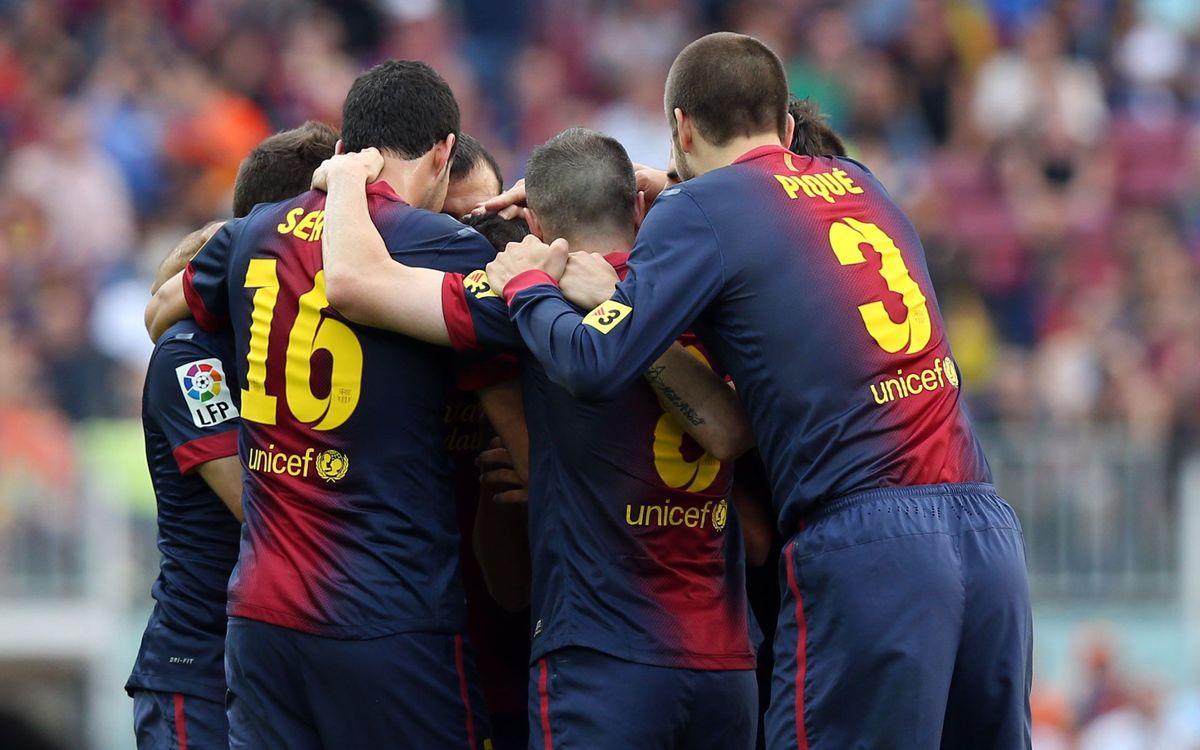 FC Barcelone - Màlaga: Et de 100 ! (4-1)