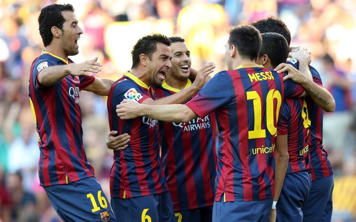 FC Barcelona v Levante: Sensational!(7-0)