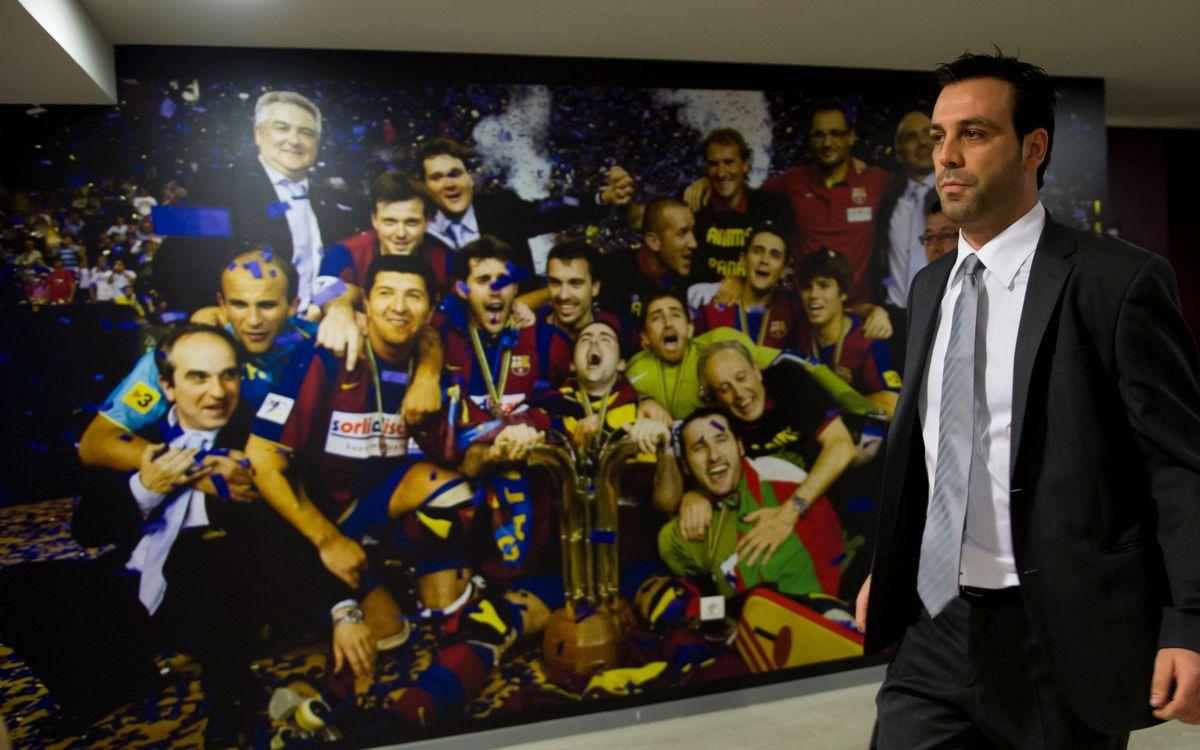 """Ricard Muñoz: """"Tenim moltes ganes de jugar davant la nostra gent"""""""