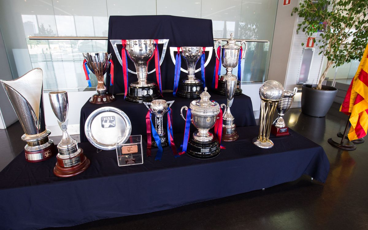 FC Barcelona has won 66 trophies in the last five years