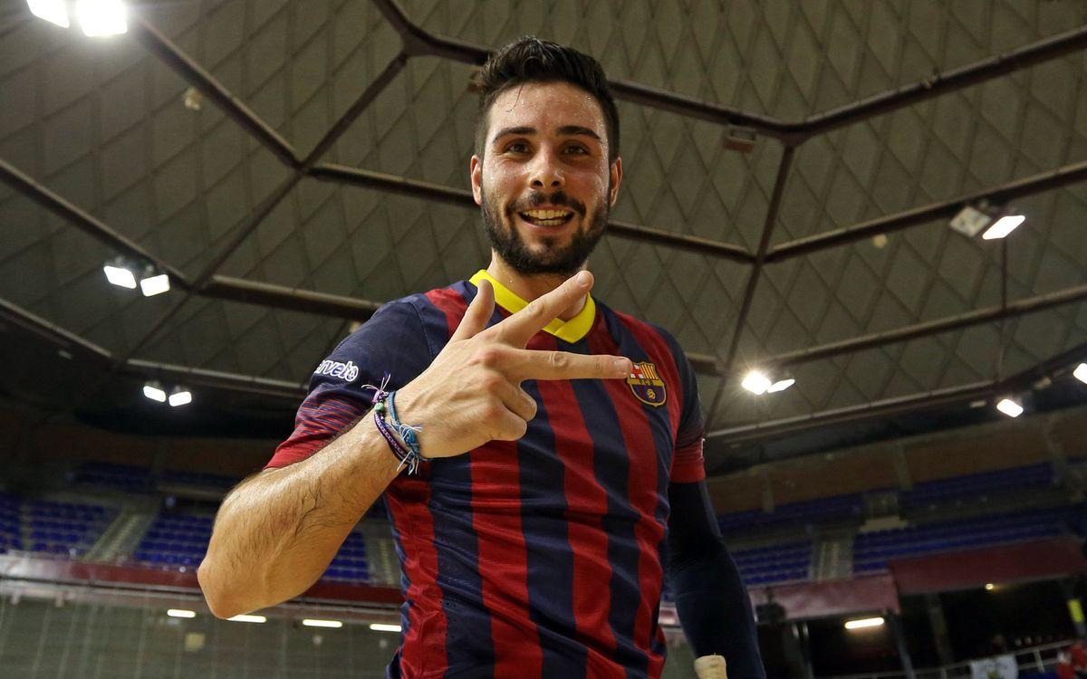 FC Barcelona v Vilafranca: Goals pouring in (6-2)