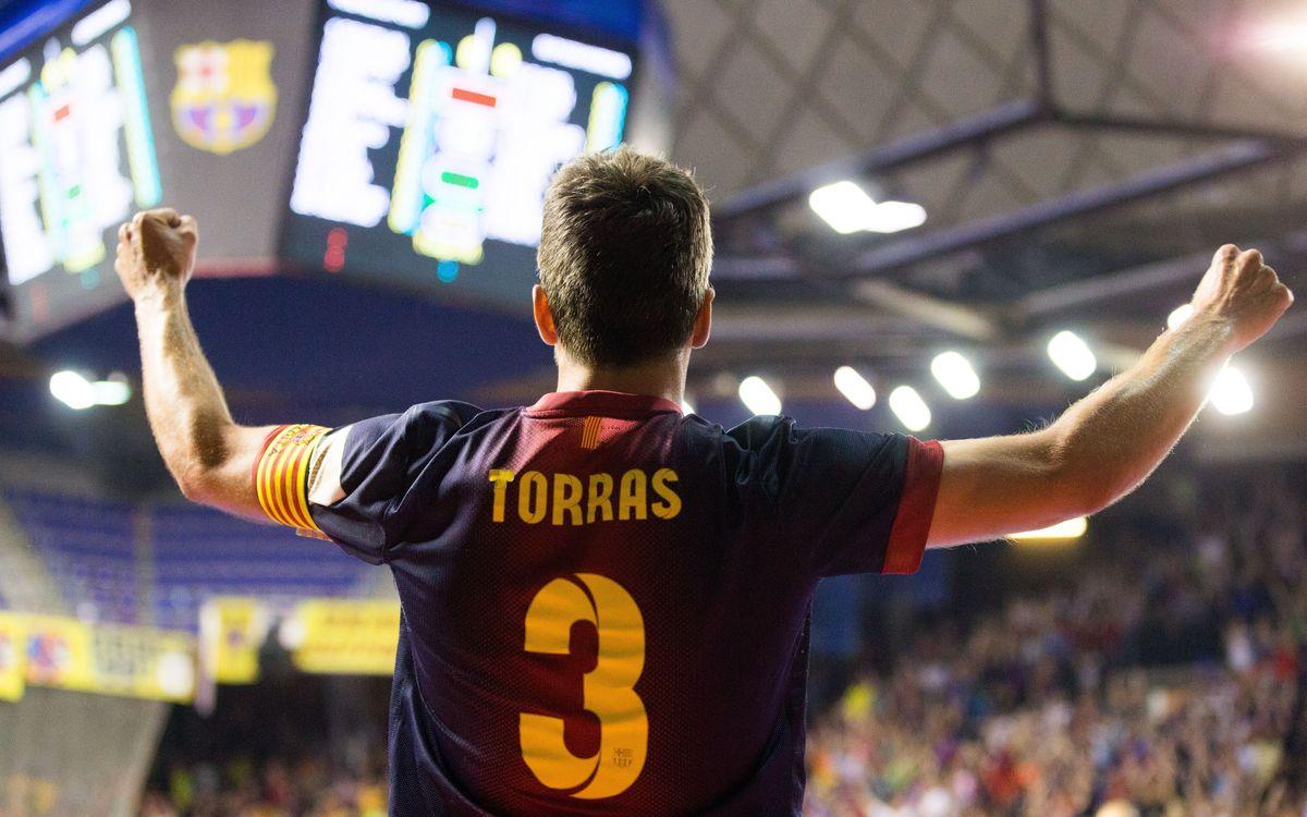 Barça Alusport - ElPozo Murcia: Torras and Sedano decide the first match (1-0)