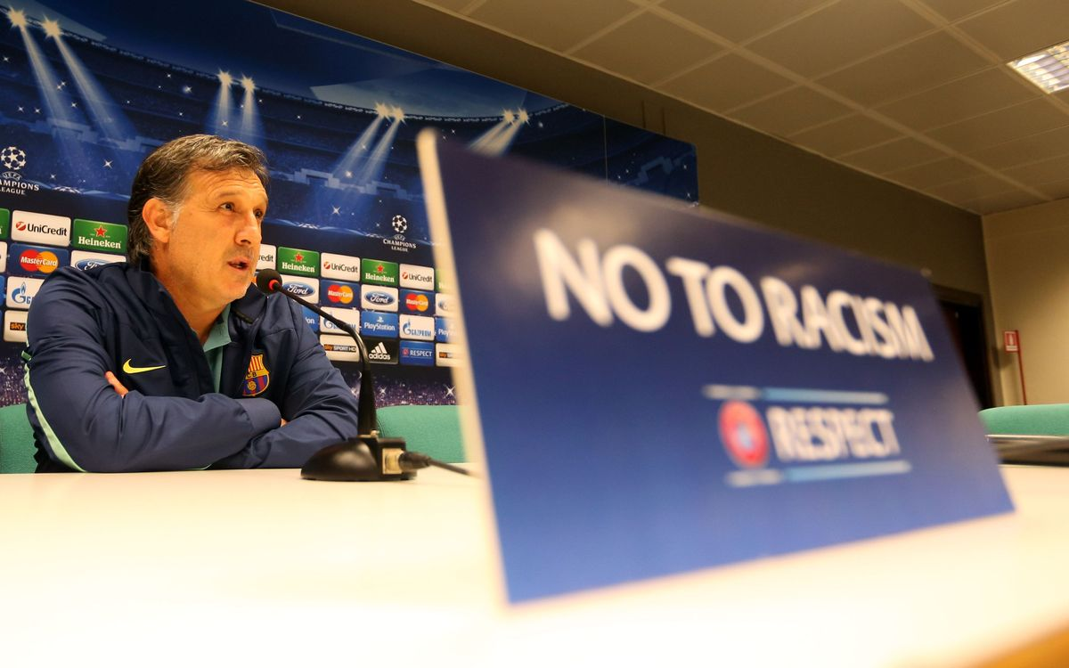 "Tata Martino: ""Un match important pour la qualification"""
