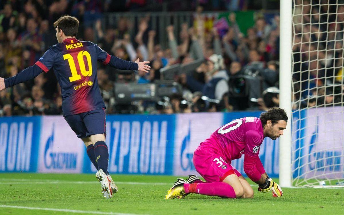 Messi face aux clubs français