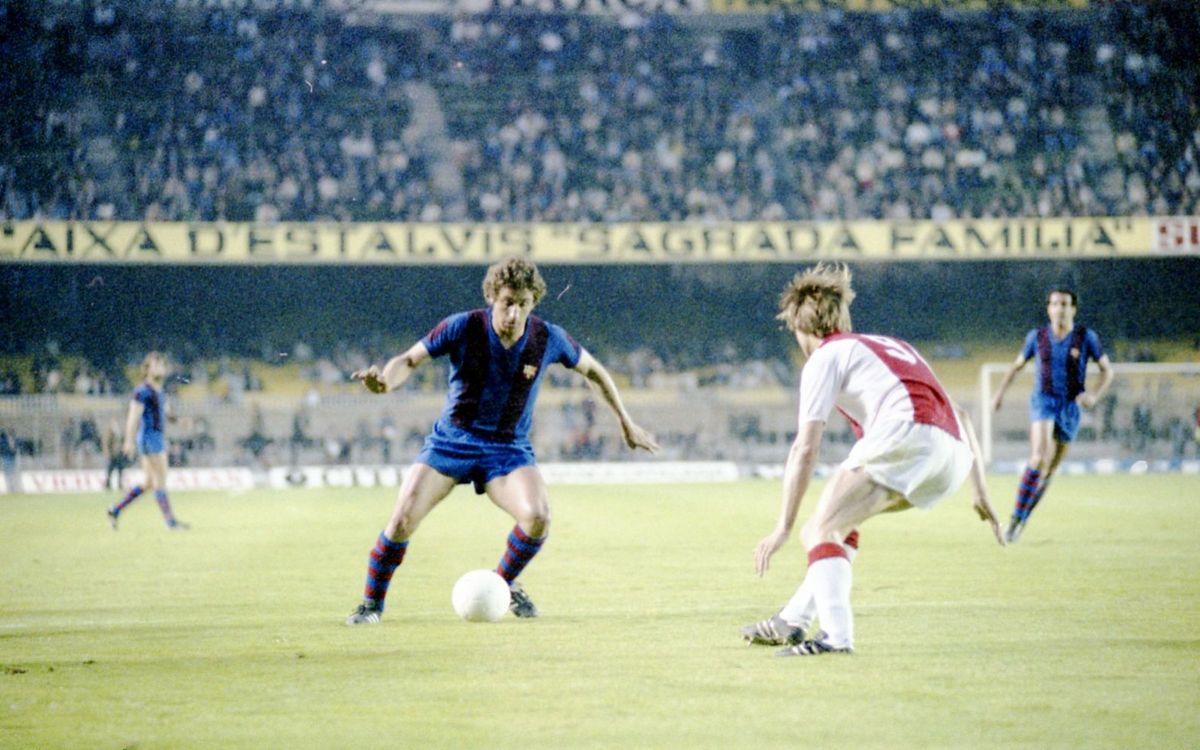 Els precedents amb l'Ajax, sempre amistosos
