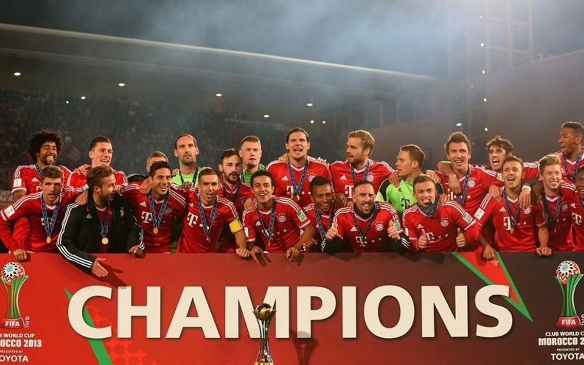 FC Barcelona congratulate Bayern Munich on wining the FIFA Club World Cup