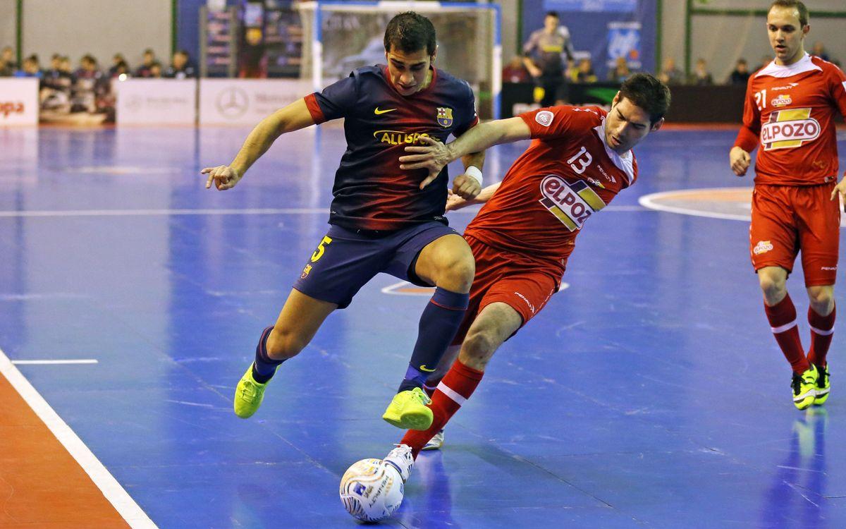 Barça Alusport i ElPozo Múrcia jugaran la seva cinquena final