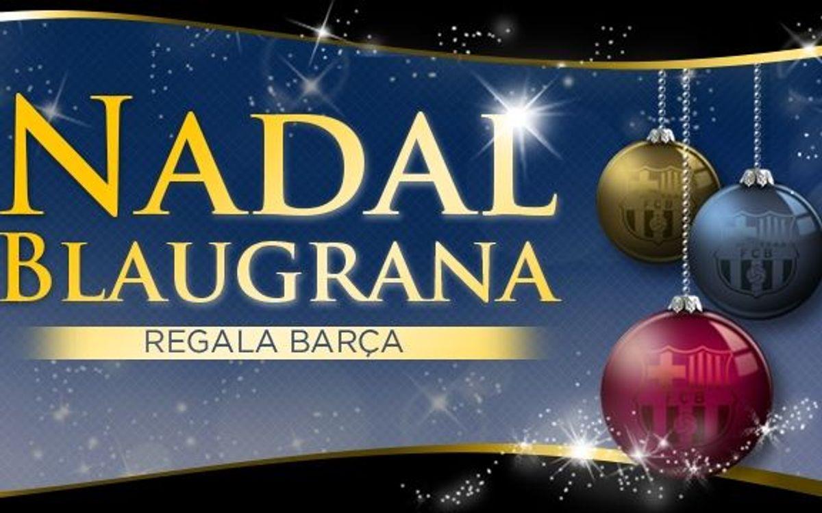 Aquest Nadal regala Barça!