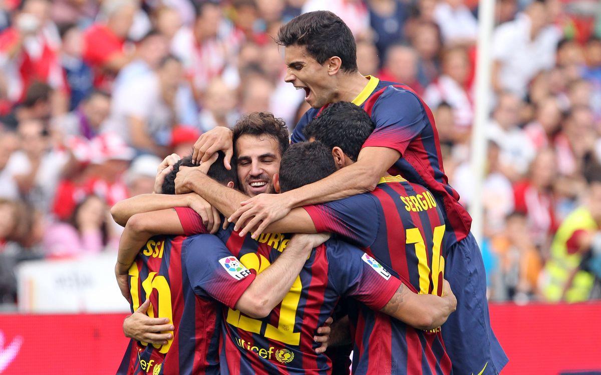 Set victòries a la Lliga segellen el millor inici de la història del Club