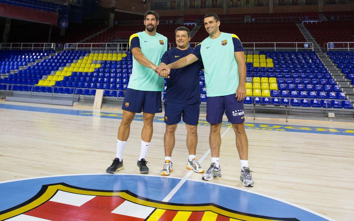 Comença la competició per al Barça d'handbol