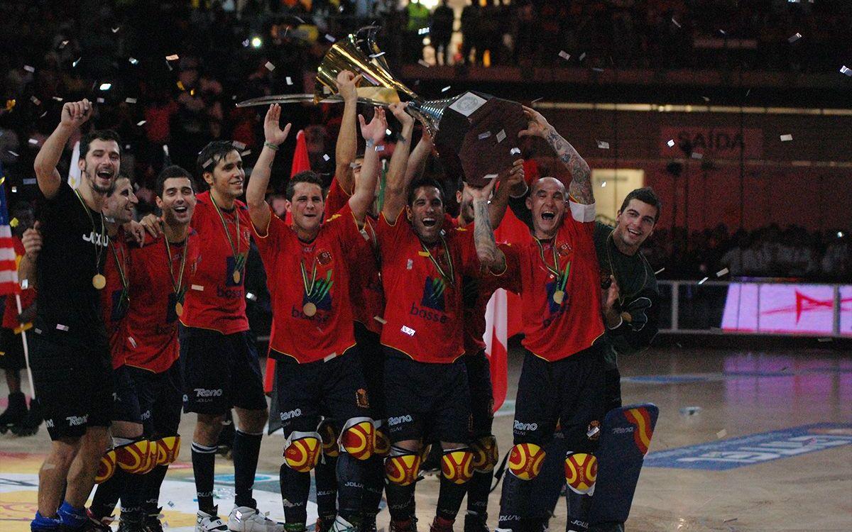 L'Espanya de Fernández, Gual i Barroso, campiona del món (4-3)