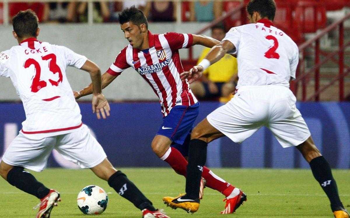 David Villa traditionally strong against FC Barcelona