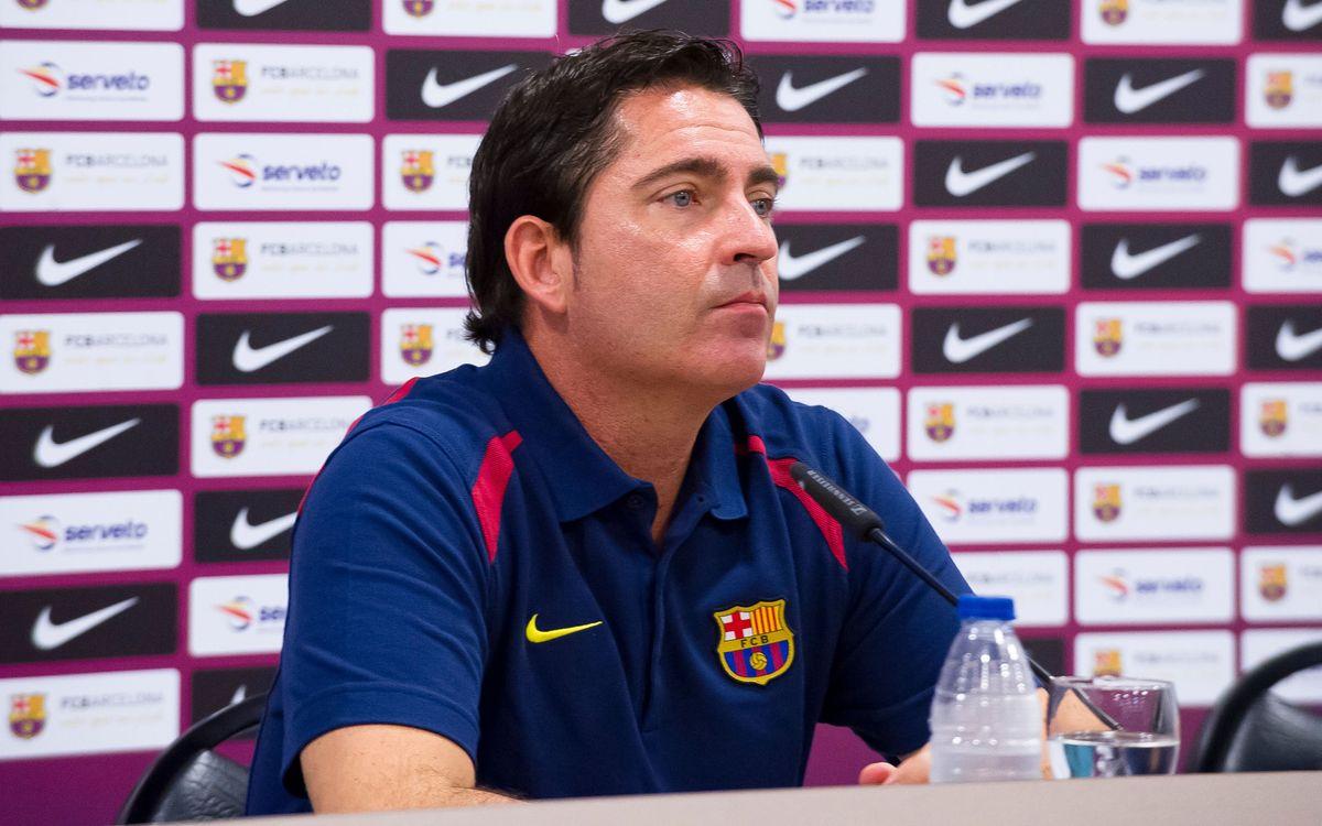 """""""L'equip està en un bon moment, cada vegada millor i més còmode"""""""