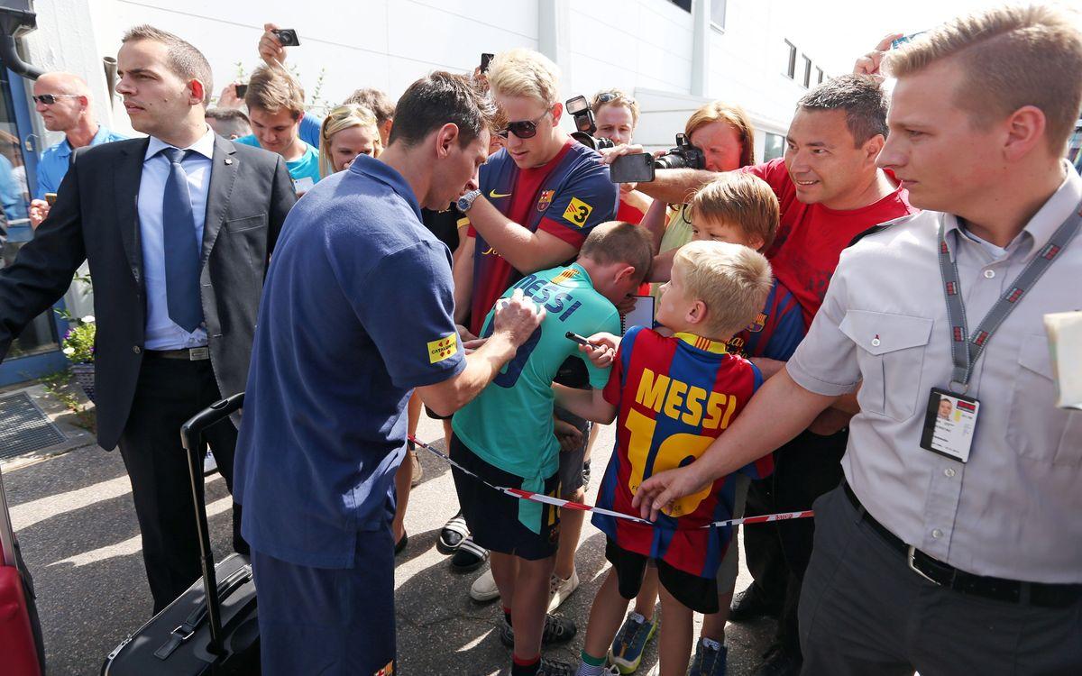 Oslo reçoit le Barça
