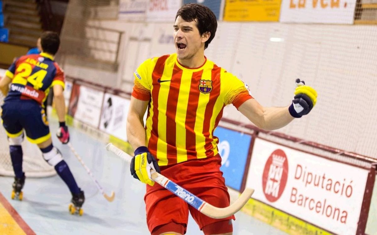 Monbus Igualada - FC Barcelona: Cinquena amb cinc de Pablo Álvarez (2-8)