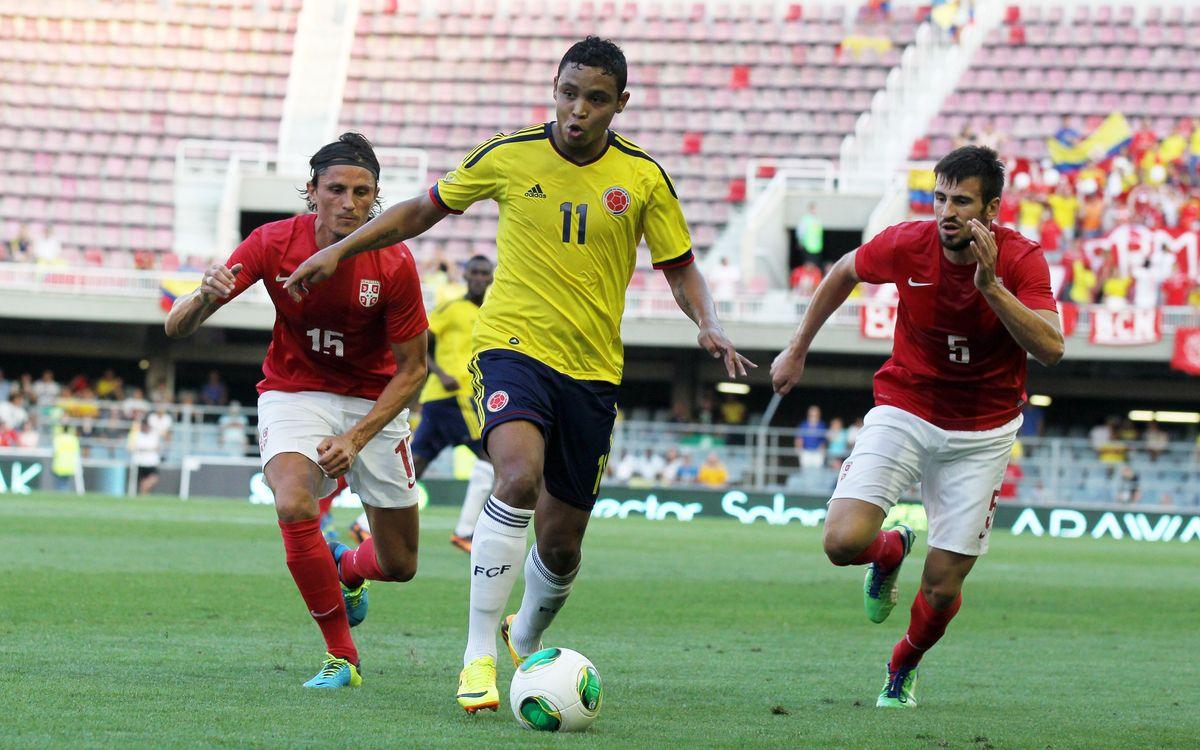 Miniestadi hosts Colòmbia v Serbia (1-0)