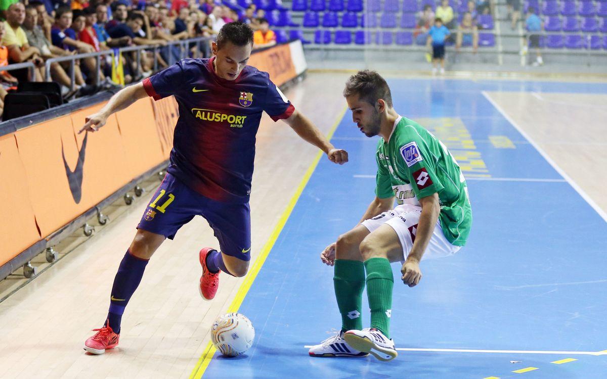 El Barça Alusport arriba a un acord amb Saad Assis per renovar el seu contracte