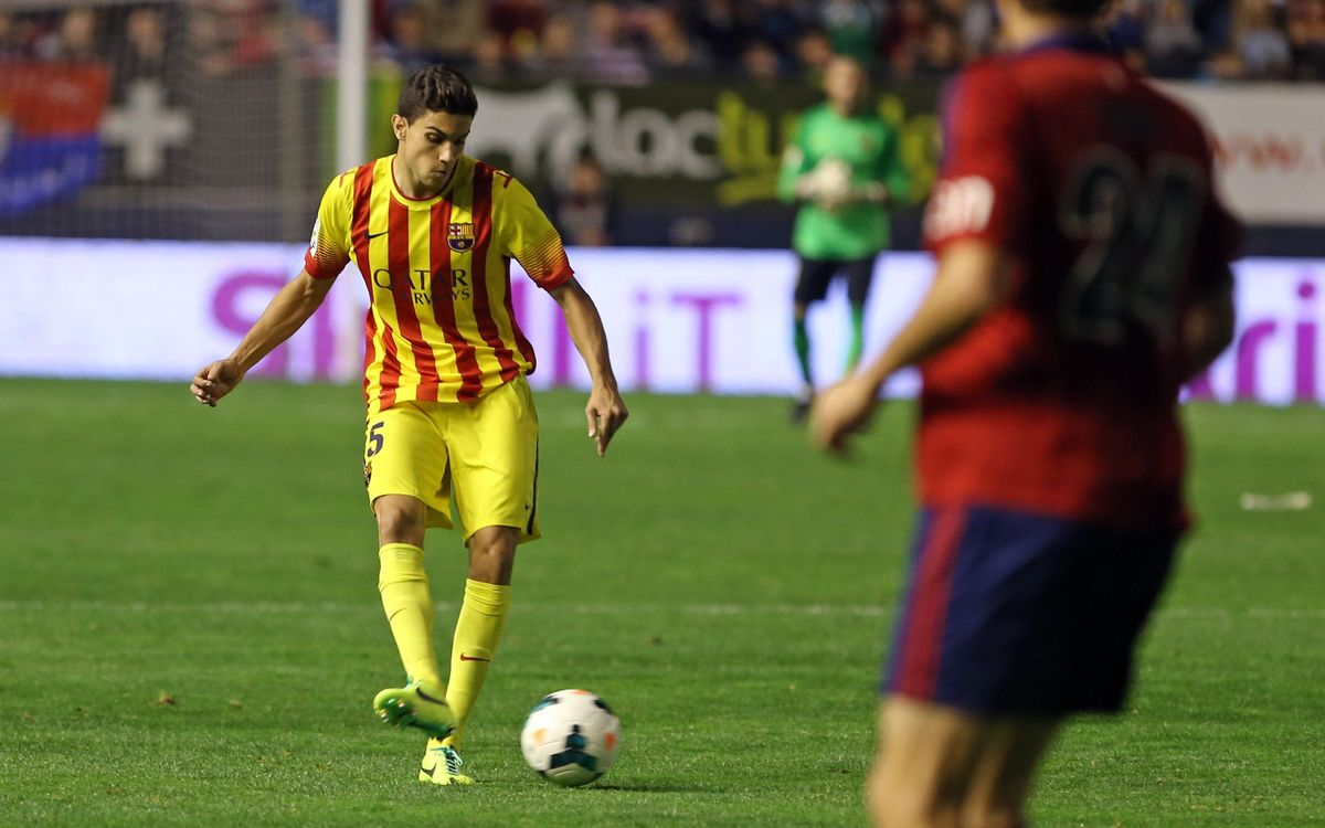 Marc Bartra reaches important milestone in his budding career