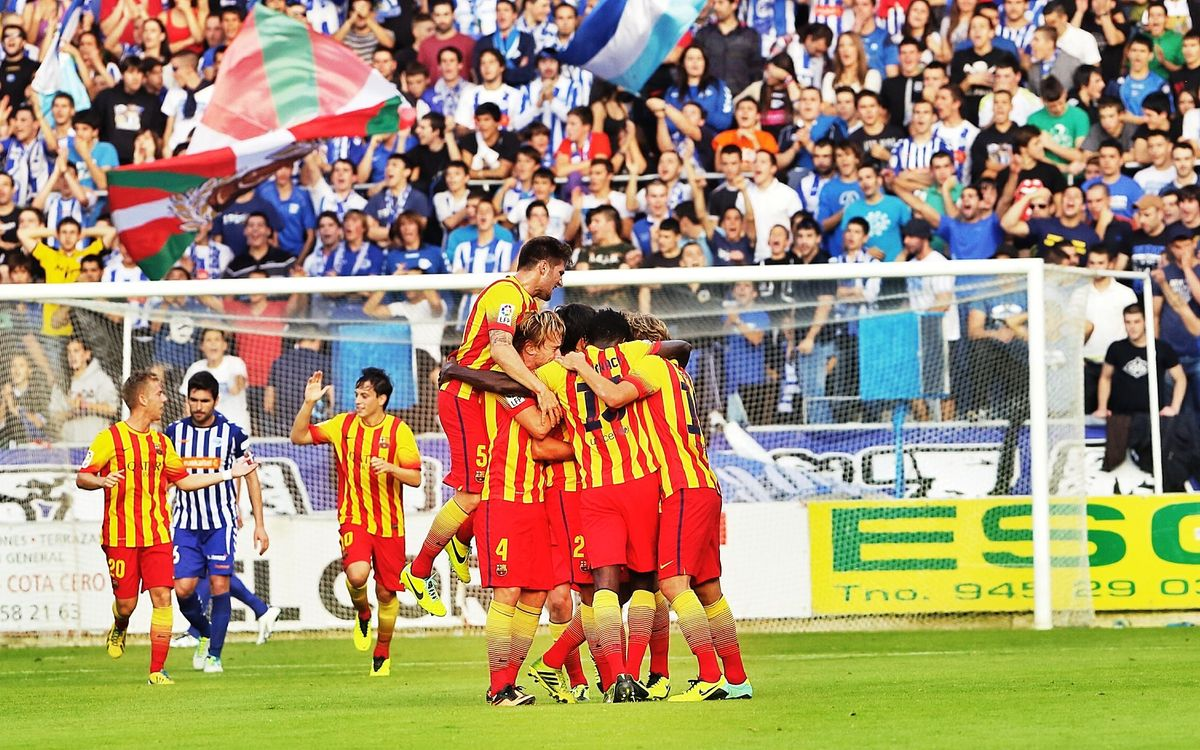 Alavés – Barça B: The best place to start winning again (2-3)