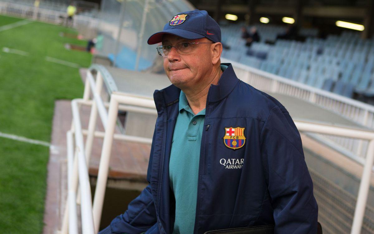 """Xavi Llorens: """"Estic content de l'esforç i el treball de les jugadores"""""""