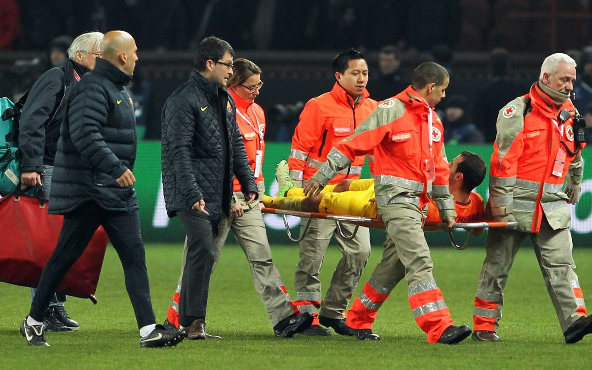 Mascherano picks up ligament injury; out of action for six weeks