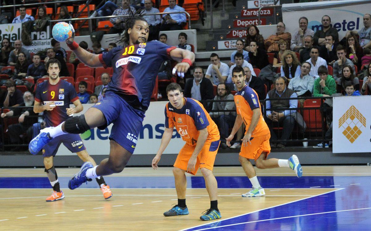La Copa en joc per al FC Barcelona Intersport