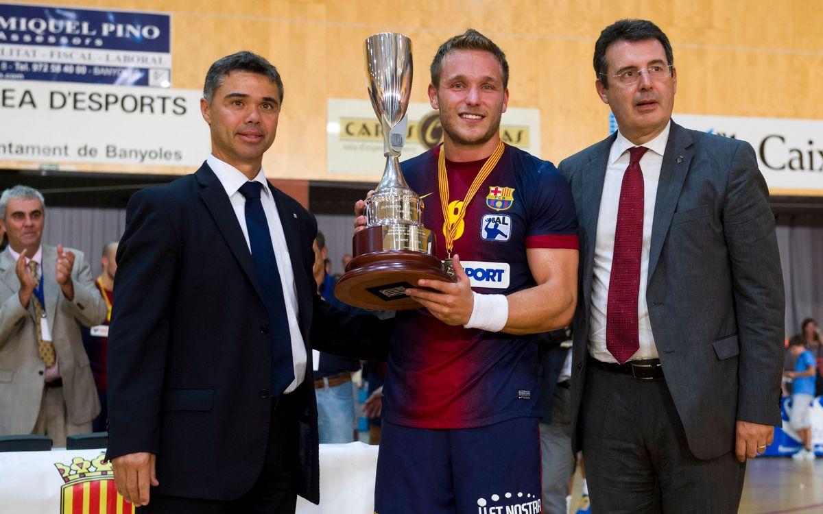 El Barça d'handbol, dominador de la competició catalana